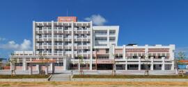 沖縄女子短期大学校舎棟・屋内運動場棟